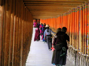 Near and Far Prayer Wheels