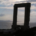 Silhouetted Naxos