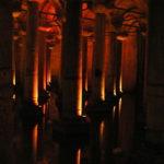 Illuminated Columns, Basilica Cistern Istanbul