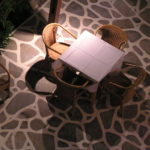 Illuminated Table, Paros Greece