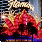 Illuminated Flamingo, Las Vegas