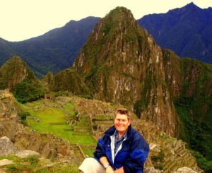 At the Sun Gate at Machu Picchu, Peru