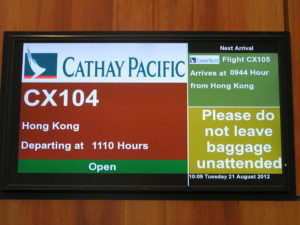 Cathay Pacific ADL-HKG