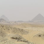 Silhouetted Pyramids