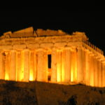 Illuminated History, Parthenon Athens