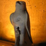 Illuminated Horus, Edfu Egypt
