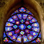 Illuminated Glass, Notre-Dame de Reims France