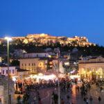 from Monastiraki platia in the Plaka