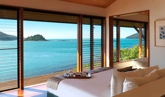 The view over the whitsunday islands