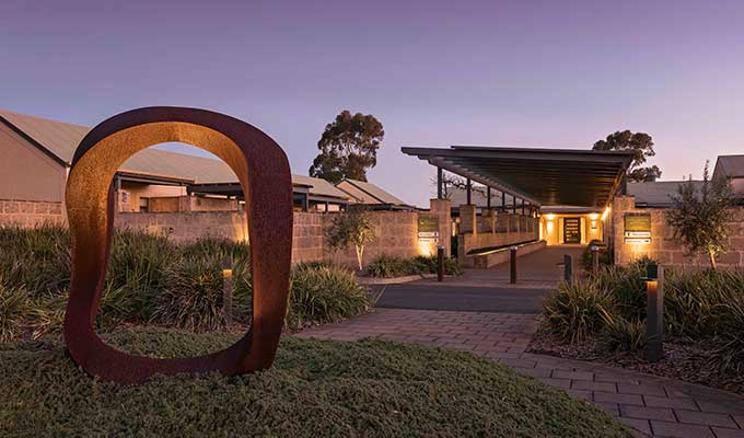 The entrance to The Louise in Barossa Valley