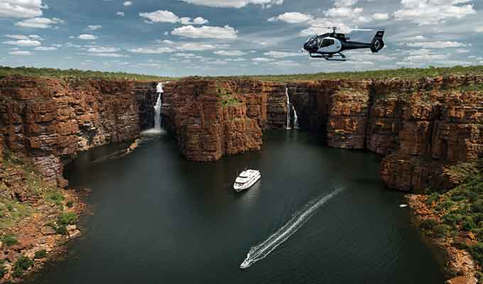 The True North ship in the Kimberleys